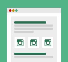 Instagram Beiträge in eigene Webseite einbinden & Instagram