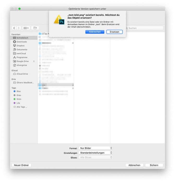 mac dialogfeld mit tastatur wechseln